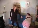 Lesbian spanking and Caning xLx