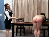 Disciplinarian Librarian  Mistress Gemini and Jewell Marceau xLx