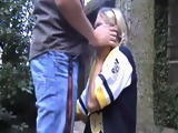 Blonde Teen Forced To Give A Blowjob And Gets Fucked Unwillingly