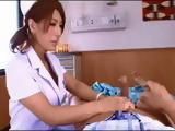 Horny Japanese Doc Grabbed Patients Cock So He Fucked Her Right There On The Spot