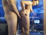 Deep Throat Blowjob And Hard Sex For Hot Brunette