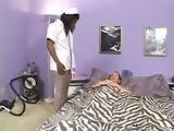 Nasty Ebony Nurse With A Patient