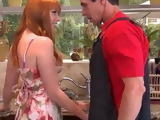 Lusty Milf Is Mad About Plumbers Cock