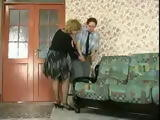 Russian Granny Molested Younger Guest in Her House