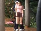 Golf Instructor Gave Some Special Lesson Today