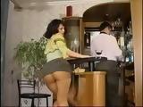 Drunk Milf Molesting Poor Waiter
