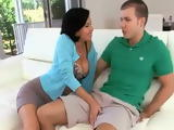 Busty stepmom Veronica Avluv Cant Resist Daughters Classmate