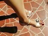 Sri Lankan beautiful Feet with Heels 01